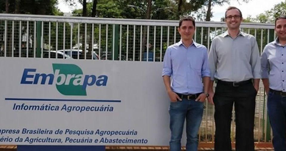 Geplant visita sede da Embrapa Informática Agropecuária